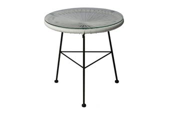 Matt Blatt Acapulco Outdoor Table Replica (White)