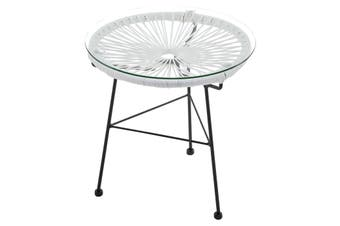 Matt Blatt Acapulco Outdoor Furniture Table Replica (White)