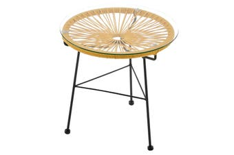 Matt Blatt Acapulco Outdoor Furniture Table Replica (Yellow)