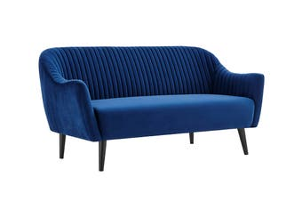Matt Blatt Anna 2.5 Seater Sofa (Dark Blue)