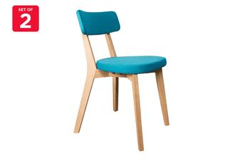 Matt Blatt Set of 2 Arne Dining Chair (Blue, Ash)
