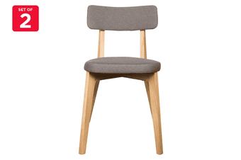 Matt Blatt Set of 2 Arne Dining Chair (Grey, Ash)
