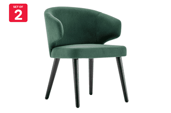 Matt Blatt Set of 2 Rodolfo Dordoni Aston Dining Chair Replica