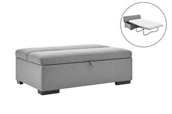 Matt Blatt Bishop Sofa Bed Ottoman (Grey Fabric)