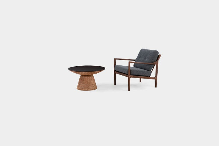 Matt Blatt Cabo Armchair (Walnut)