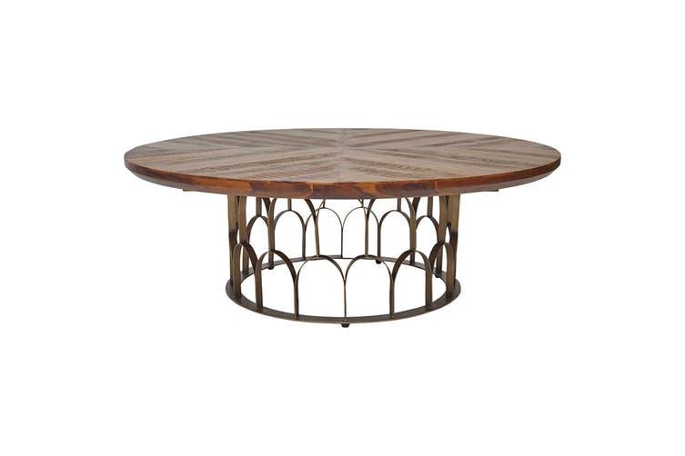 Matt Blatt Gatsby Round Coffee Table
