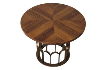 Matt Blatt Gatsby Round Side Table