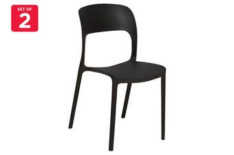 Matt Blatt Set of 2 Eresse Studio Gipsy Chair - Replica (Black)