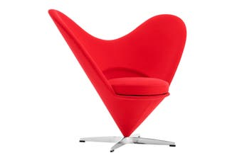 Matt Blatt Verner Panton 1958 Heart Cone Chair Replica