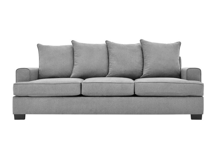 Matt Blatt Houston 3.5 Seater Sofa (Charcoal)