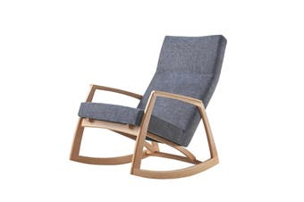 Matt Blatt Edvard Danish Design Rocking Chair Replica (Ash)