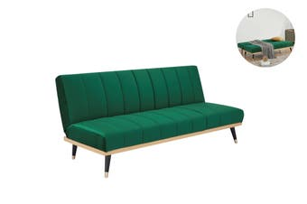 Matt Blatt Jenna Sofa Bed (Green Velvet)