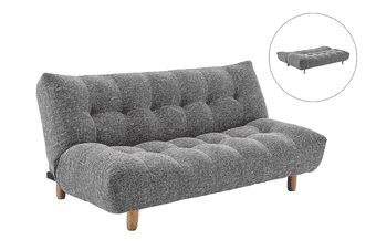 Matt Blatt Kansas Sofa Bed (Dark Grey)