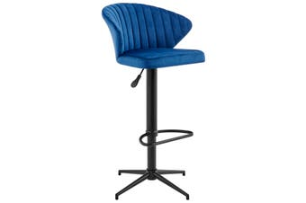 Matt Blatt Kenneth Dahl Scallop Adjustable Stool (Navy)