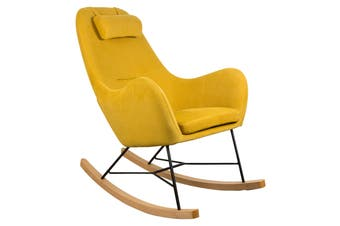 Matt Blatt Kenneth Dahl Dixie Rocking Chair (Mustard)