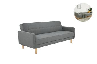 Matt Blatt Laguna Sofa Bed (Light Grey Fabric)