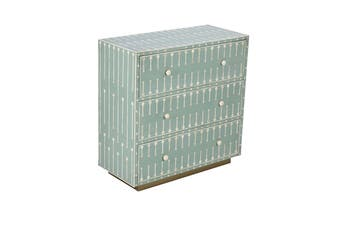 Matt Blatt Mondo Bone Inlay Chest of Drawers