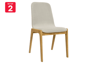 Matt Blatt Set of 2 Newport Dining Chair (Beige)