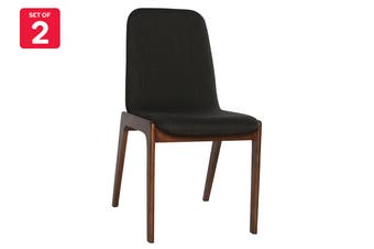 Matt Blatt Set of 2 Newport Dining Chair (Charcoal)