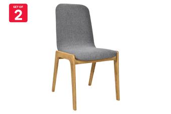 Matt Blatt Set of 2 Newport Dining Chair (Grey)