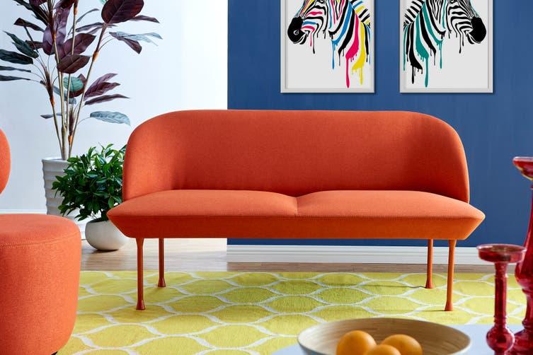 Matt Blatt Anderssen & Voll Oslo 2 seat Sofa Replica