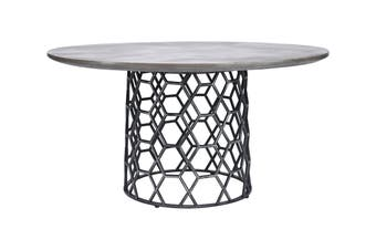 Matt Blatt Porter Concrete Dining Table (Dark Grey)