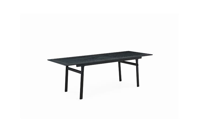 Matt Blatt Saigon Extendable Dining Table (Black Oak)