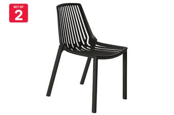 Matt Blatt Set of 2 Sawyer Chair (Black)