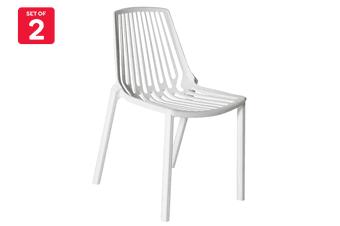 Matt Blatt Set of 2 Sawyer Chair (White)