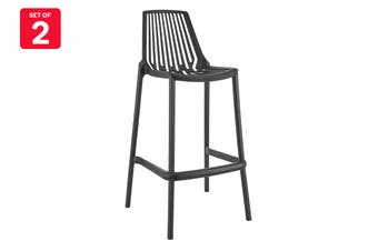 Matt Blatt Set of 2 Sawyer Bar Stool (Black)