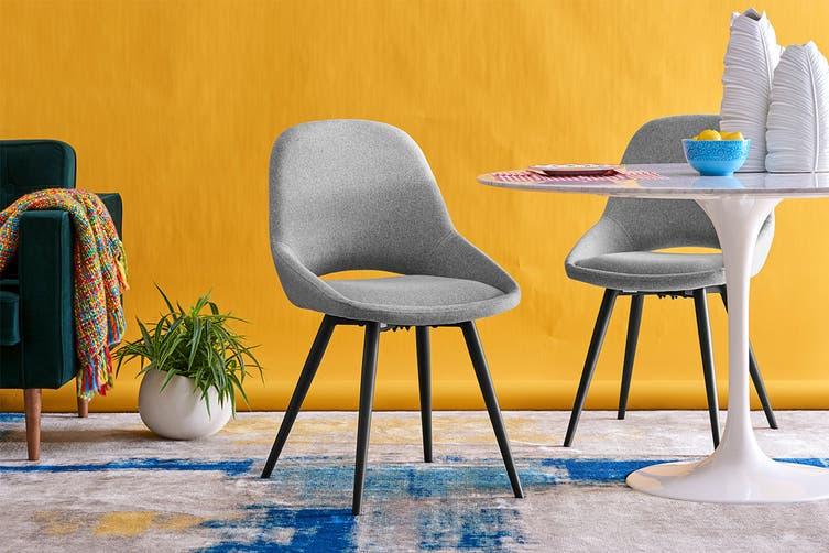 Matt Blatt Set of 2 Spencer Dining Chair (Light Grey)
