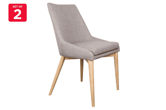 Matt Blatt Set of 2 Storm Dining Chair (Light Grey)