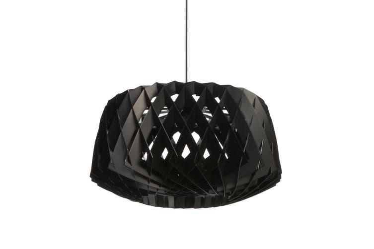 Matt Blatt Tuukka Halonen Pilke Wide Pendant Light - Replica (Black)