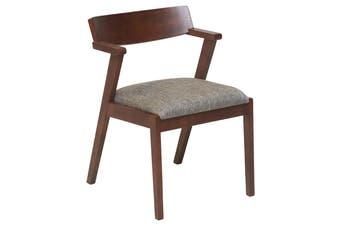 Matt Blatt Vero Dining Chair (Grey Fabric)