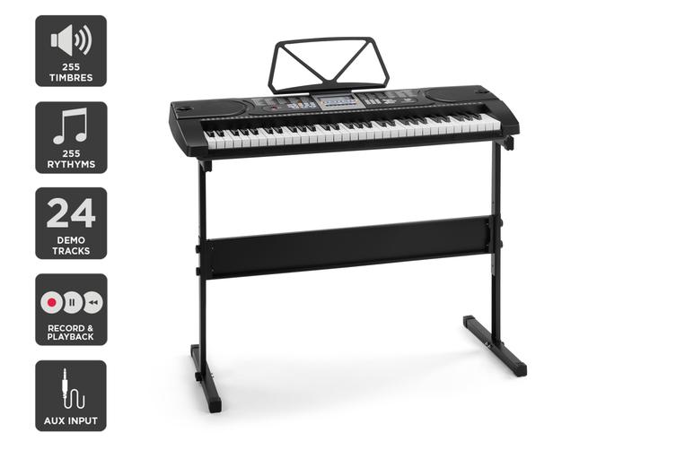 Royale 61 Key Electronic Piano Keyboard & Stand