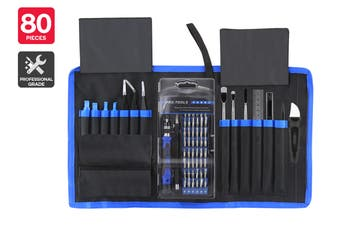 80 Piece Professional Electronics Repair Kit