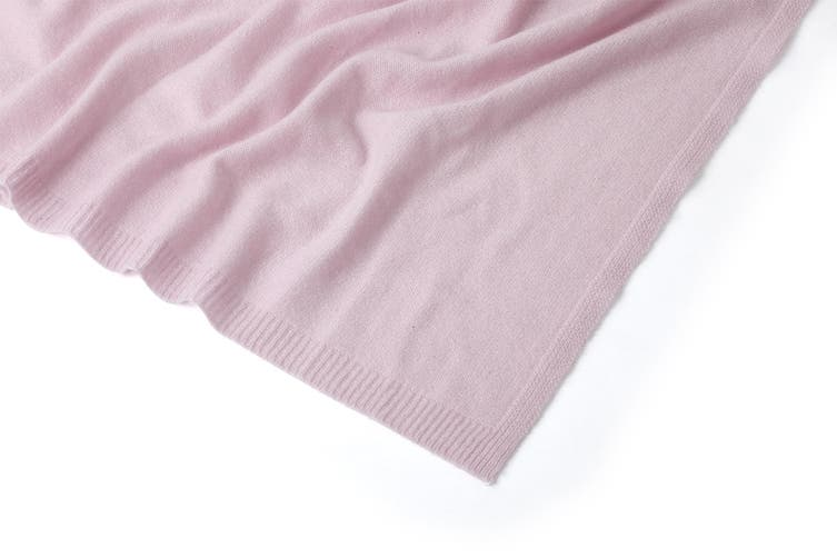 100% Mongolian Cashmere Wrap (200 x 75cm, Peony)