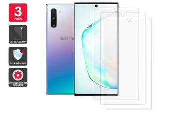 Hydrogel Self-Healing Screen Protector for Samsung Galaxy Note 10 (3 Pack)