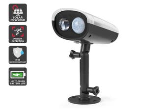 Solar Powered Motion Sensor LED Spot Light (Black, Matera)