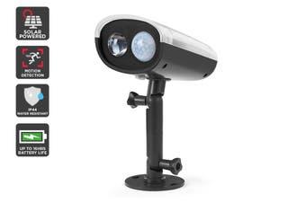 Solar Powered Motion Sensor LED Spot Light (Black, Matera)