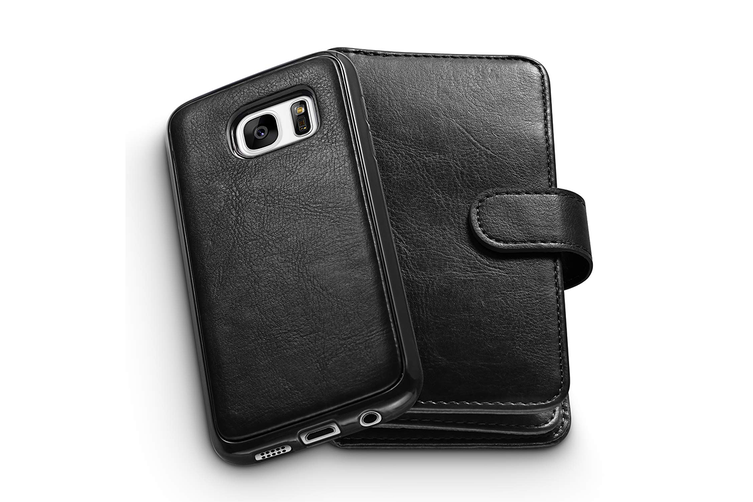 Leather Wallet Flip Case Cover for Samsung Galaxy S20+