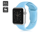 Silicone Band for Apple Watch 38/40mm M/L (Light Blue)