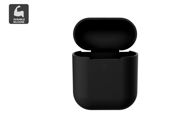 Silicone Case for AirPods 1/2 (Black)