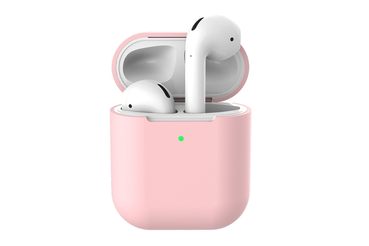 Silicone Case for AirPods 1/2 (Pink)