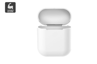 Silicone Case for AirPods 1/2 (White)