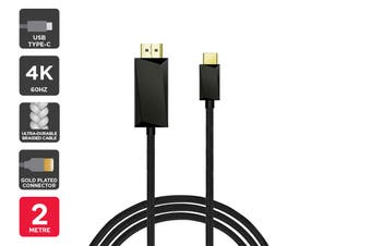 4K 60Hz Braided Type C to HDMI Cable (2m)