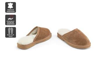 Outback Ugg Slippers Barwon - Premium Sheepskin (Chestnut, Size 5M / 6W US)