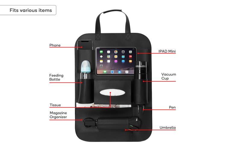 Orbis Car Back Seat Organiser with Tablet Holder (2 Pack)