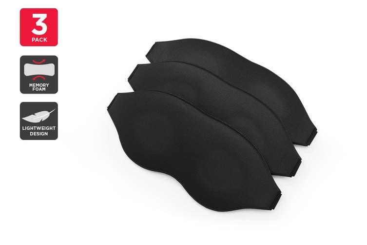 Orbis 3D Memory Foam Sleeping Eye Mask (3 Pack)