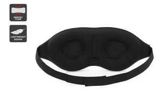 Orbis 3D Memory Foam Sleeping Eye Mask